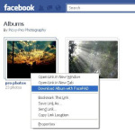 Download Facebook Photo Albums With FacePAD