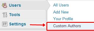 custom users