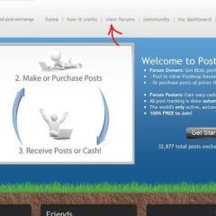 Earn Money For Posting in Forums – Postloop