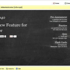Reveiw of uCertify Online Platform for 1Z0-040 PrepKit