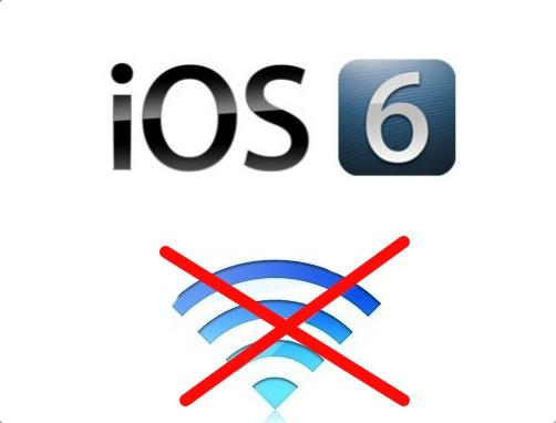 iOS-6-WiFi-connectivity problems