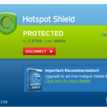 Giveaway #4 : Hotspot Shield Elite worth $29.95 – Get Behind The Shield (Expired)