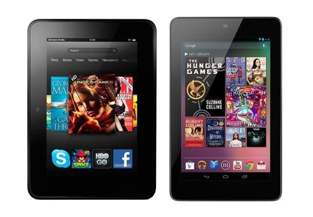 Nexus 7 vs Kindle Fire
