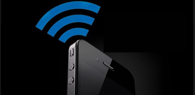 Connect an iPhone to wifi