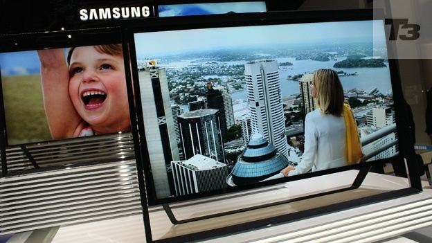 Televisions at CES 2013