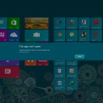 Windows 8 Fix:This app can't open check the windows store for more info