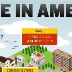 Crime in America – Infographic