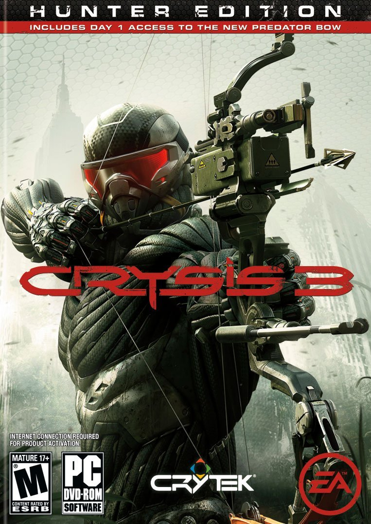 Buy Crysis 3 at cheap rate from Amazon pc games 2013
