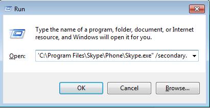 skype installation path
