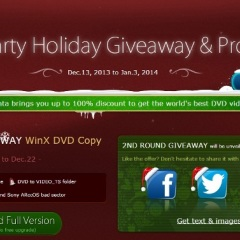 Christmas Giveaway: WinX DVD Copy Pro Worth $49.95